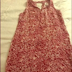 Old Navy Red & White dress!